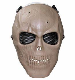 MFH High Defence Airsoftmasker 'Skull' coyote volledige aangezichtsbedekking