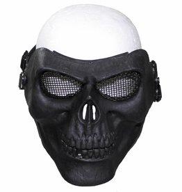 """MFH Gittermaske, """"Totenkopf"""", schwarz, Deko"""