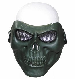 """MFH Gittermaske, """"Totenkopf"""", oliv, Deko"""