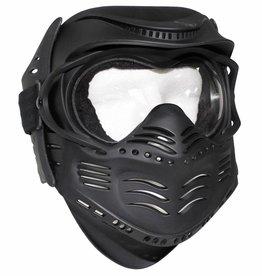 MFH Gesichtsschutzmaske, Fight, schwarz