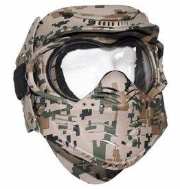 MFH Gesichtsschutzmaske, Fight, digital woodland
