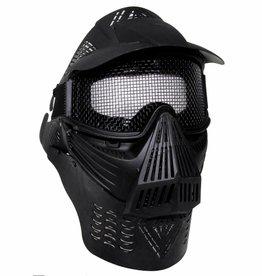 MFH Gesichtsschutzmaske, Airsoft De Lux, schwarz