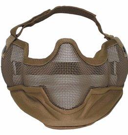 MFH Gesichtsschutzmaske, Airsoft, coyote tan
