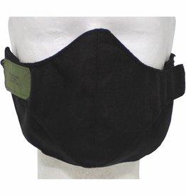 MFH Airsoftmasker zwart 2-delig