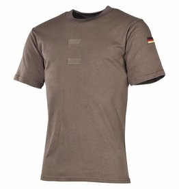 MFH Army Tropenhemd olijf/legergroen Klitterband voor embleem