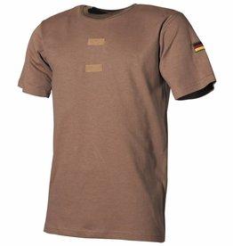 MFH Army Tropenhemd coyote Klitterband voor embleem