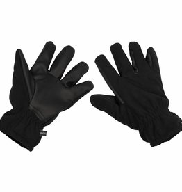 MFH Fleece-Vingerhandschoenen Alpin zwart winddicht