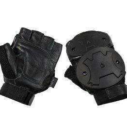 MFH Handschuhe zonder vingers Knöchelschutz zwart