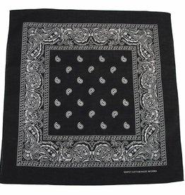 MFH Bandana zwart-wit Afmetingen 55 x 55 cm Baumwolle (set van 12)