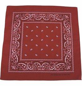 MFH Bandana burgund-zwart Afmetingen 55 x 55 cm Baumwolle (set van 12)