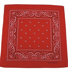 MFH Bandana rood-wit Afmetingen 55 x 55 cm Baumwolle (set van 12)
