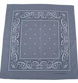 MFH Bandana grau-zwart Afmetingen 55 x 55 cm Baumwolle (set van 12)