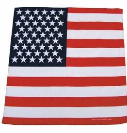 MFH Bandana USA Fahne Afmetingen 55 x 55 cm (set van 12)