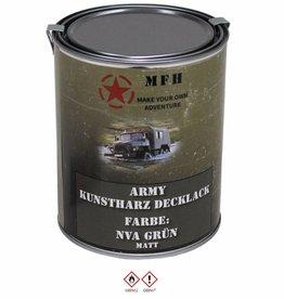 MFH Blik met verf 'Army' NVA groen matt 1 Liter