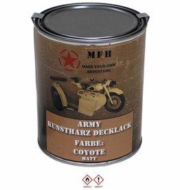 MFH Blik met verf 'Army' COYOTE matt 1 Liter