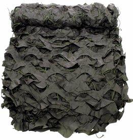 MFH Camouflagenet 3 x 2 m 'Basic' olijf/legergroen met PVC-draagtas