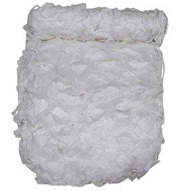 MFH Camouflagenet 3 x 2 m 'Basic' wit met PVC-draagtas