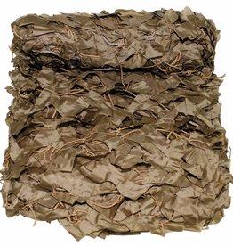 MFH Camouflagenet 3 x 2 m 'Basic' coyote t. met PVC-draagtas