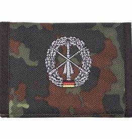 MFH Army Portemonnee vlekcamouflage Heer- esflugabw. Klettv. Ausweisf.