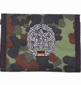 MFH Army Portemonnee vlekcamouflage Feldjäger Klettv. Ausweisf.