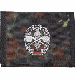 MFH Army Portemonnee vlekcamouflage ABC -Abwehr Klettv. Ausweisf.