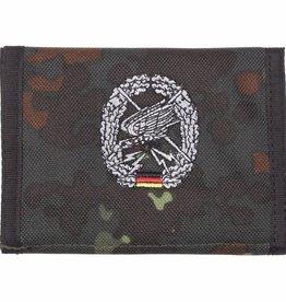 MFH Army Portemonnee vlekcamouflage Fernspäher Klettv. Ausweisf.