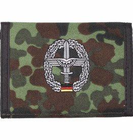 MFH Army Portemonnee vlekcamouflage Heeresflieg. Klettv. Ausweisf.