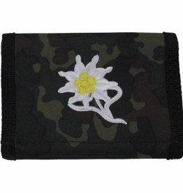 MFH Army Portemonnee vlekcamouflage Edelwit Klettv. Ausweisf.