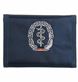 MFH BW Geldbörse, blau, Sanitäter, Klettverschl., Ausweisfenster