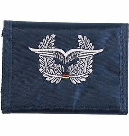 MFH Army Portemonnee blauww Luftwaffe Klettverschl. Ausweisfenster