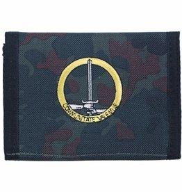 MFH BW Geldbörse, flecktarn, 1.NL/D-Corps,Klettv.,Ausweisf.