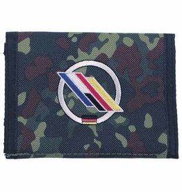 MFH Army Portemonnee vlekcamouflage D/F-Brigade Klettv. Ausweisf.