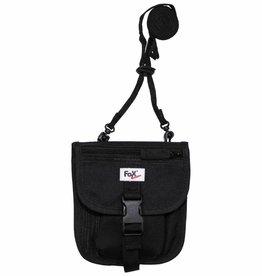 Fox Outdoor Fox Outdoor - Brustbeutel met Houder voor de mobiele telefoon zwart 16 x 14 cm