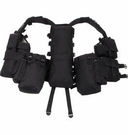 MFH Tactical Weste, mit vielen Taschen, schwarz