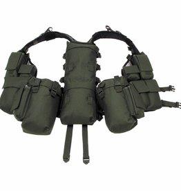 MFH Tactical Weste, mit vielen Taschen, oliv