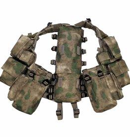 MFH Tactical Weste, mit vielen Taschen, HDT-camo FG