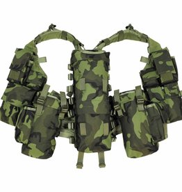 MFH Tactical Weste, mit vielen Taschen, M 95 CZ tarn