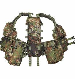 MFH Tactical Weste, mit vielen Taschen, vegetato