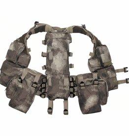MFH Tactical Weste, mit vielen Taschen, HDT-camo