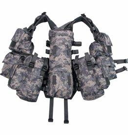 MFH Tactical Weste, mit vielen Taschen, AT-digital