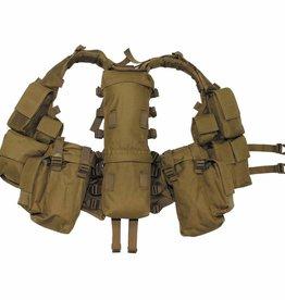 MFH Tactical Weste, mit vielen Taschen, coyote tan