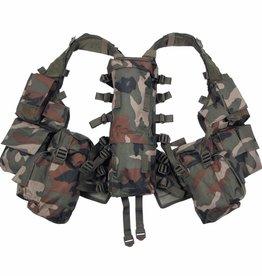 MFH Tactical Weste, mit vielen Taschen, woodland