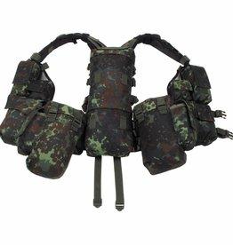 MFH Tactical Weste, mit vielen Taschen, flecktarn