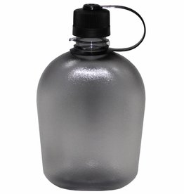 MFH US Feldflasche, GEN II, schwarz/transparent, 1 Liter