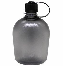 MFH US Veldfles GEN II zwart/transparent 1 Liter