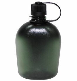 MFH US Veldfles GEN II olijf/legergroen/transparent 1 Liter
