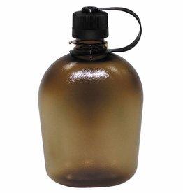 MFH US Feldflasche, GEN II, coyote/transparent, 1 Liter