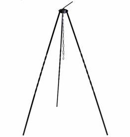MFH Ungar. Dreibein, Höhe 1 m, Eisen, mit Kette und Hacken