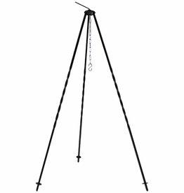 MFH Ungar. Dreibein, Höhe 1,2 m, Eisen, mit Kette und Hacken