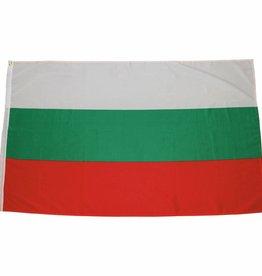 MFH Fahne, Bulgarien, Polyester, Gr. 90 x 150 cm